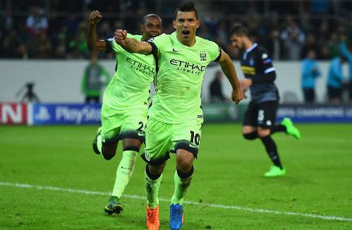 Monchengladbach 1-2 Man City: Ngược dòng phút 90