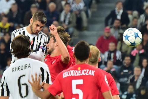 Juventus 2-0 Sevilla: Tìm lại niềm vui ở Champions League