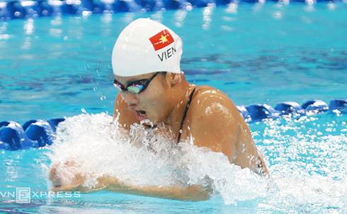 Ánh Viên đoạt ba HC vàng giải bơi châu Á