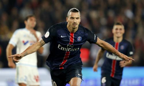 Ibrahimovic phá kỷ lục ghi bàn của PSG