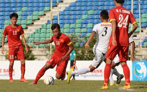 U19 Myanmar vs U19 Việt Nam