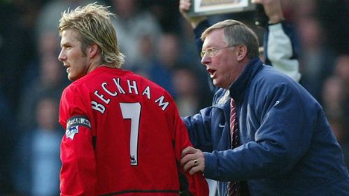Beckham vẫn sợ uống rượu trước mặt Alex Ferguson