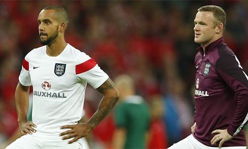 Walcott muốn thay Rooney dẫn dắt hàng công tuyển Anh