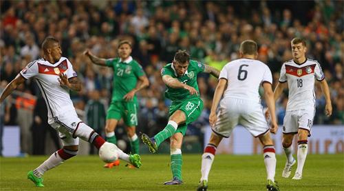 Thua sốc trước Ireland, Đức lỡ cơ hội giành vé sớm dự Euro