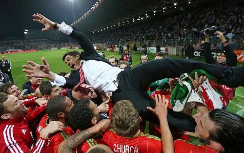 Wales hoàn thành giấc mơ dự Euro 2016