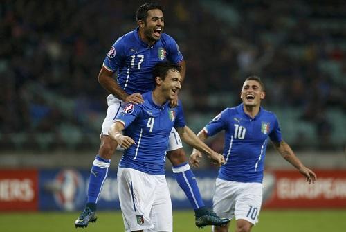 Italy giành vé dự Euro 2016 với thành tích bất bại
