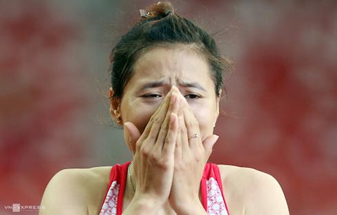 Cô gái vàng điền kinh Việt Nam có nguy cơ mất vé Olympic