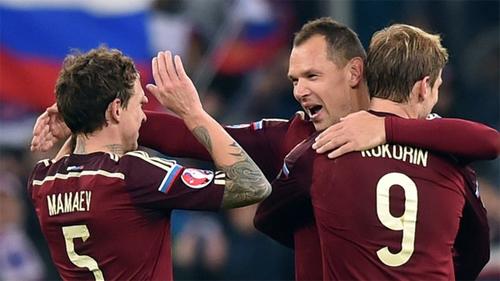 Nga hoàn tất cú nước rút xuất sắc, giành vé dự Euro 2016