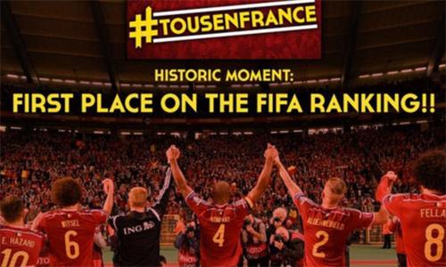 Bỉ lên đỉnh FIFA và những bài học cho bóng đá Việt Nam