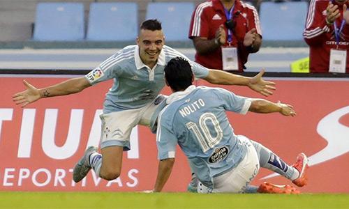 Cảm hứng để Celta bay cao là bộ đôi tấn công gồm tiền đạo hàng thải của Barca, Nolito và tiền vệít tiếng tăm người Chile, Fabio Orellana.
