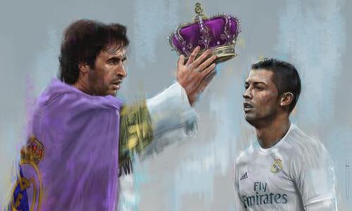 Raul và Ronaldo: Số 7 hôm xưa, số 7 hôm nay
