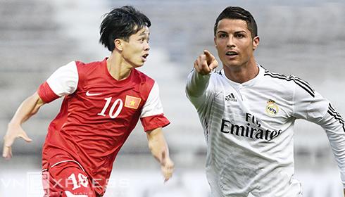 Công Phượng được mời góp mặt trong sự kiện có Ronaldo