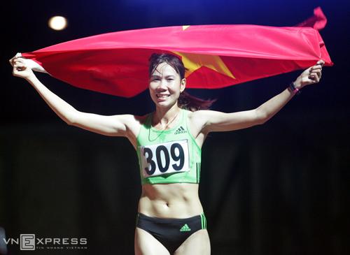 Trương Thanh Hằng - Nữ hoàng chạy xuyên giông bão