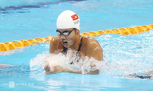 Ánh Viên thi đấu mỗi tuần vì mục tiêu Olympic