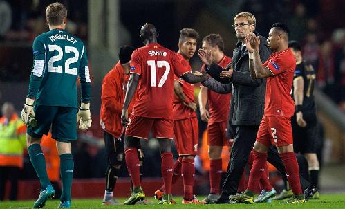 Liverpool lại hòa, Dortmund thắng đậm ở Europa League