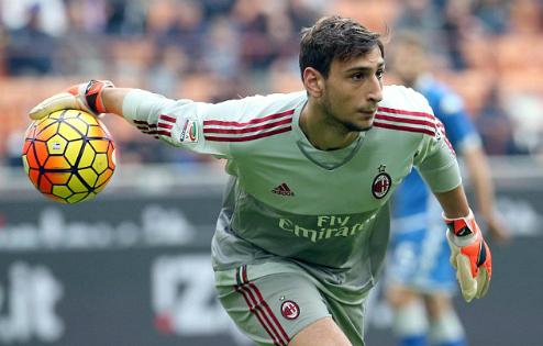 Thủ môn 16 tuổi của Milan lập kỷ lục Serie A