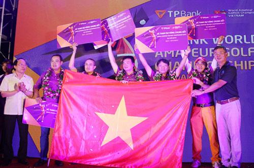 Năm golf thủ Việt Nam dự giải nghiệp dư lớn nhất thế giới