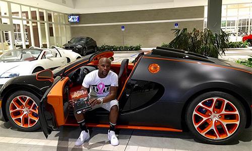 Mayweather mua siêu xe 3,5 triệu đôla