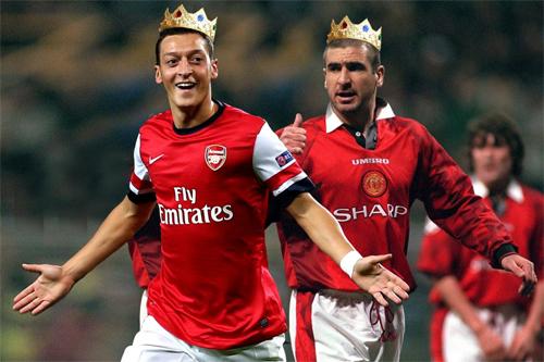 Ozil qua mặt Cantona, trở thành vua kiến tạo ở Ngoại hạng Anh