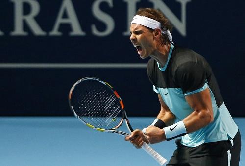 Nadal suýt bị loại ở trận mở màn giải Basel