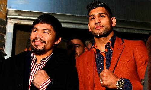 Amir Khan tự đề cử so găng với Pacquiao