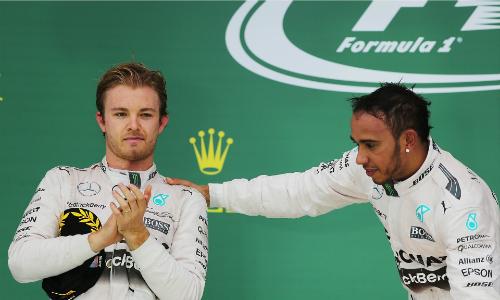Hamilton sẽ không giúp Rosberg chiếm ngôi á quân