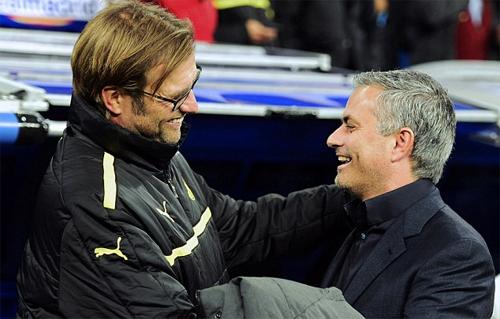 Klopp là khắc tinh của Mourinho
