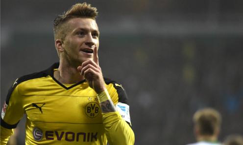 Marco Reus lập cú đúp, Dortmund bám đuổi Bayern