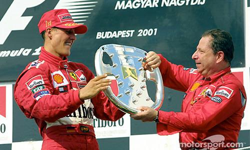 Schumacher đang chiến đấu để bình phục