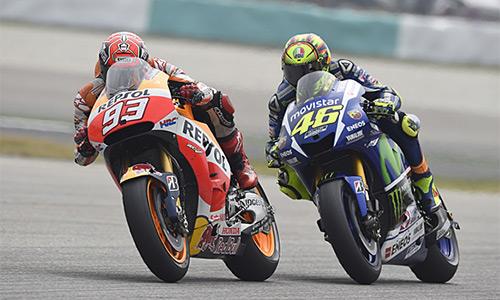 Honda vẫn buộc tội Rossi đạp xe Marquez
