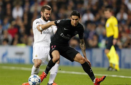 Di Maria hay nhất, Ronaldo tệ nhất trận Real - PSG