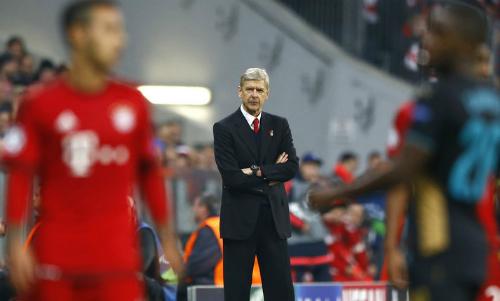 Wenger: 'Không có gì bất ngờ nếu Arsenal bị loại'