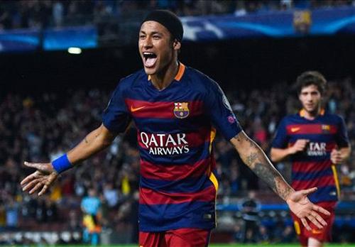 Neymar chói sáng, Barca tiến sát vòng 16 đội