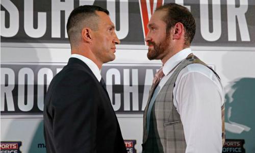 Tyson Fury tự đặt cược thắng Klitschko