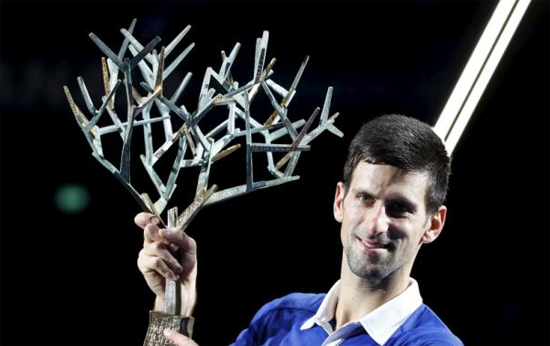 Djokovic vô địch Paris Masters 2015