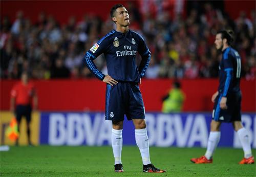 Ronaldo mờ nhạt, Real nhận thất bại đầu tiên mùa này