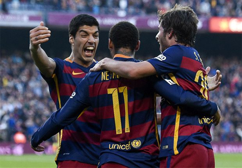 Neymar lập siêu phẩm lừa bóng, Barca độc chiếm ngôi đầu Liga
