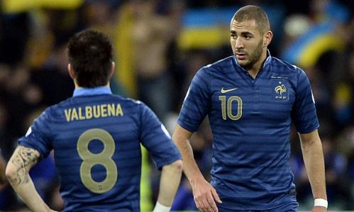 Valbuena không thù Benzema về vụ clip sex