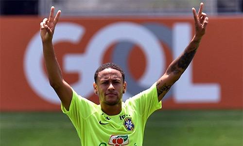 Neymar - Thấp thoáng bóng hình vị Vua tương lai