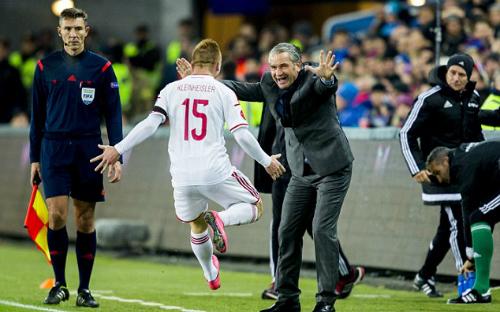 Hungary thắng trận đầu tranh vé vớt vòng loại Euro