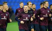 Rooney bị loại khỏi đội hình xuất phát tuyển Anh