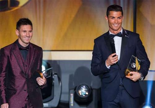 Ronaldo: 'Messi sẽ giành Quả bóng Vàng năm nay'