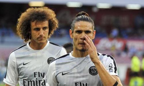 Cavani, David Luiz không muốn trở lại Paris sau vụ khủng bố