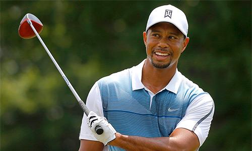 Tiger Woods vào top doanh nhân dưới tuổi 40 giàu nhất thế giới