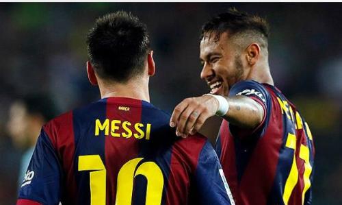 Ronaldinho khen Neymar hay nhất thế giới