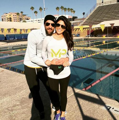 Michael Phelps vui vì sắp lên chức bố