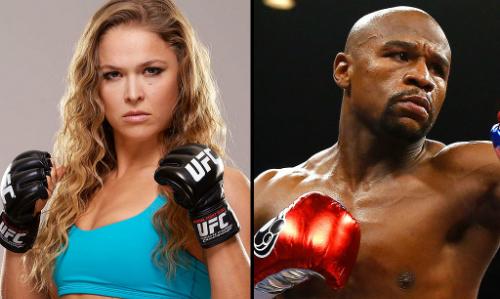 Mayweather muốn giúp Ronda Rousey cải thiện kỹ năng
