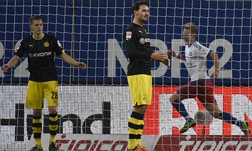 Dortmund đứt mạch thắng ở Bundesliga