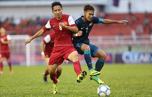Video: U21 Việt Nam vs U21 Singapore