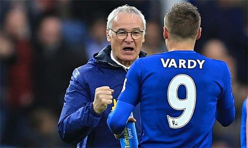 Ranieri: 'Jamie Vardy là Batistuta của Leicester'